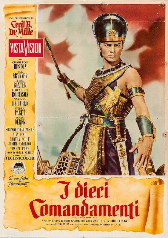 The Ten Commandments 1956 Imdb Yul Brynner Movies Ten Commandments