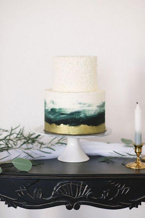 Two tier wedding cakes #weddingcake #weddings #wedding #weddingcolors