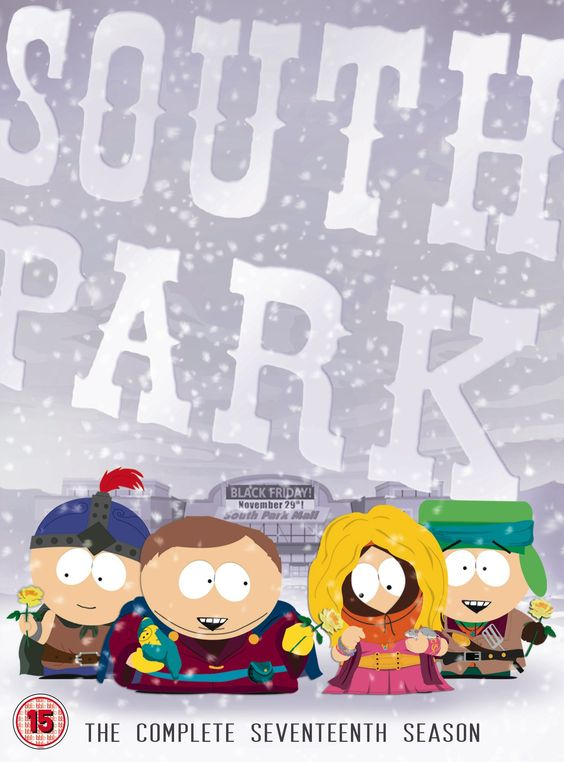 South Park: Season 17 [DVD]: Amazon.co.uk: DVD & Blu-ray