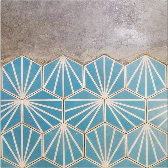 clamshell tiles.: