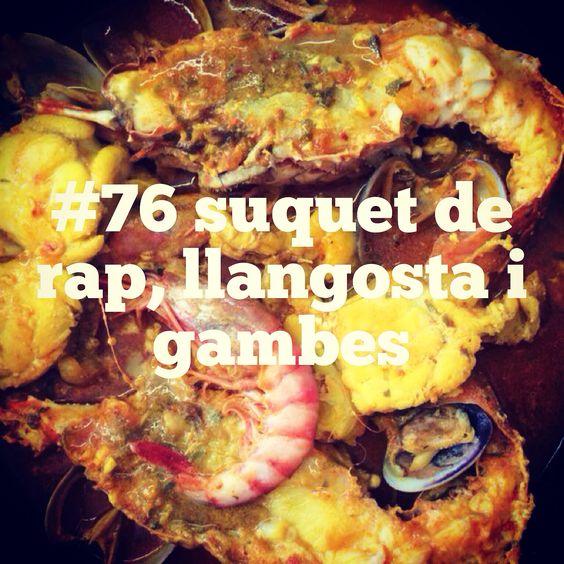#76 suquet de rap, llangosta i gambes