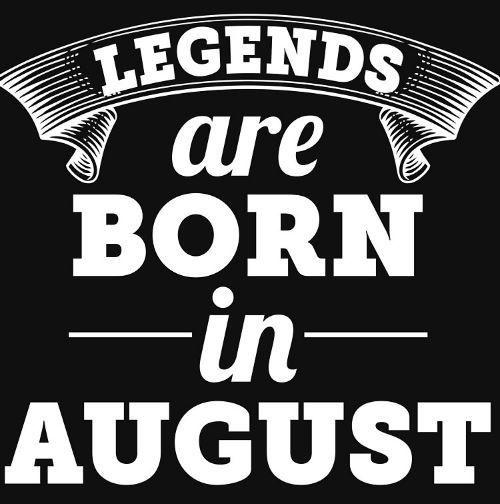 Born In August Birthday Images Cake Pics Whatsapp Status