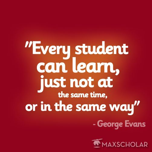 All Students Can Learn, Just Not The Same Way ...