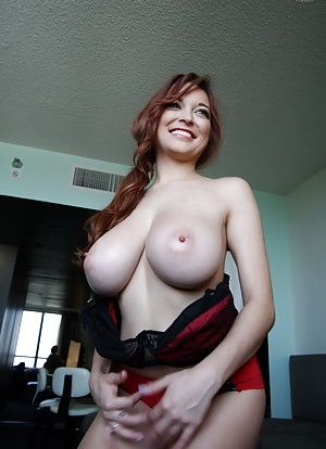 Natural big shy tits amateur