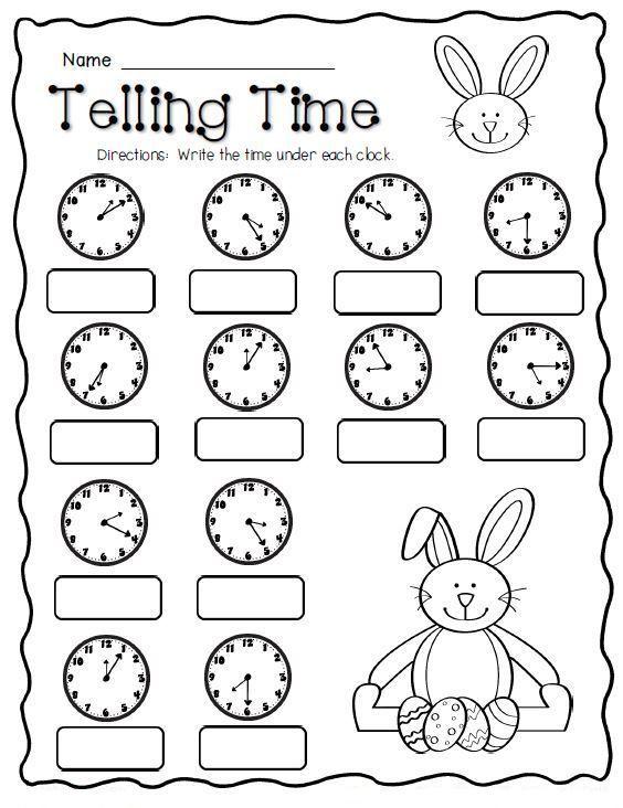 Easter Kindergarten Worksheets Best Coloring Pages For Kids 2nd Grade Math Worksheets Math Freebie 2nd Grade Math