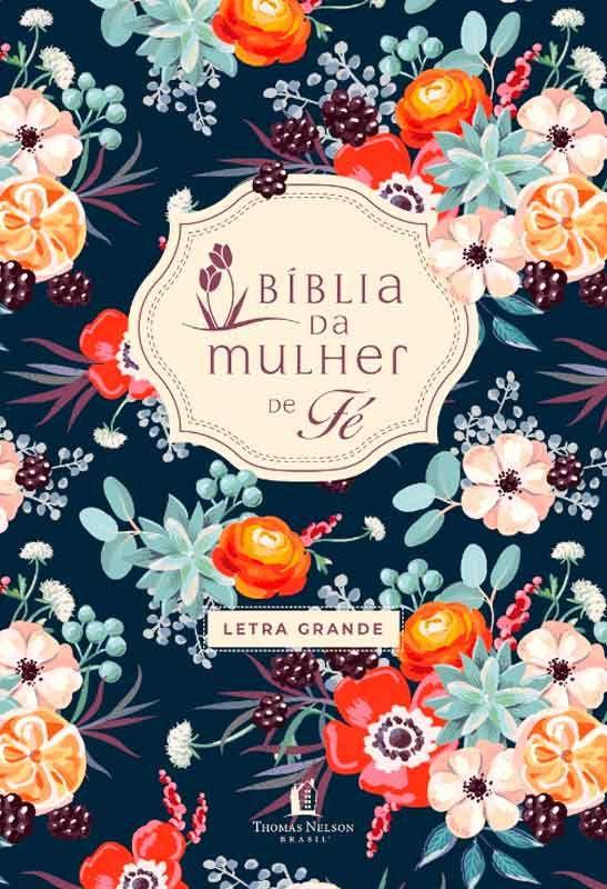 Biblia De Estudo Da Mulher De Fe Letra Grande Nvi Luxo