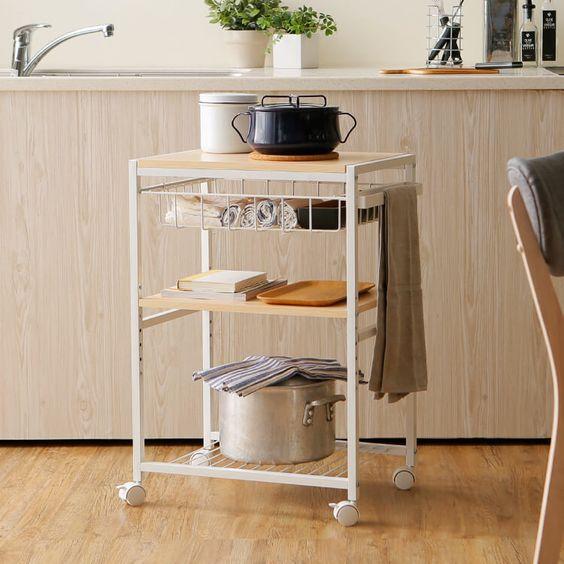 ロウヤのおしゃれ食器棚・キッチンカウンター・レンジ台・ワゴンのおすすめ12選