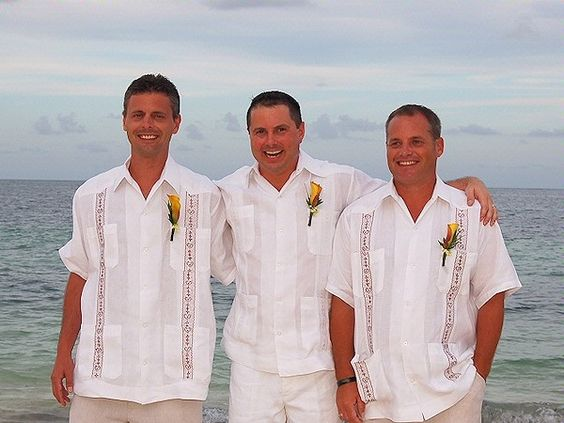 caribbean wedding attire for men | Beach Wedding Style for the Bridal Party - Weddings in Kenya ...