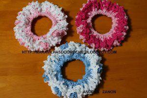 PASSO A PASSO | Maravilhas do Croche: Crochet 2, Crochet Accessories, Crochet Free, Crochet Hair