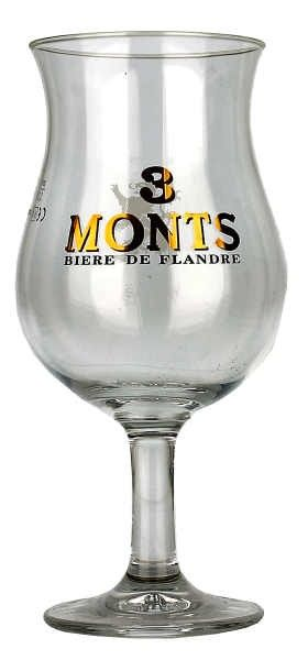 Trois Monts Tulip Glass 0.33L | Beers of Europe | World Glasses