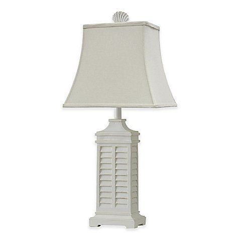 Coastal Shutter Table Lamp White Coastal Shutter Coastal Floor Lamps Coastal Living Rooms Coastal Bedrooms