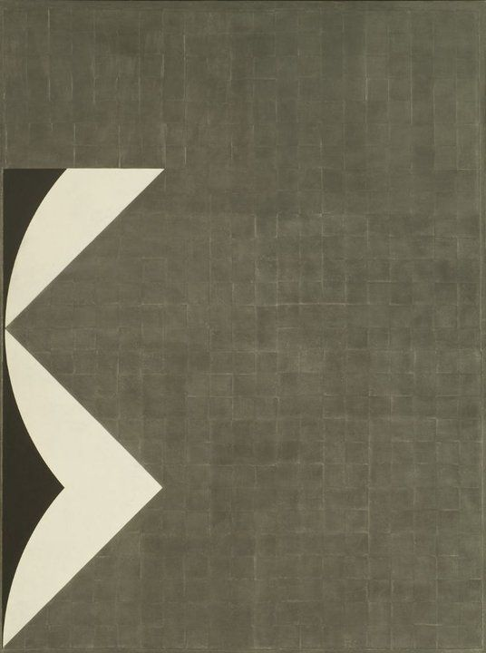 Gottfried Honegger Tableau-Relief Z-470, 1963-1967 Synthetic polmer, graphite and collage of paperboard on linen 78 3/4 X 59 in. (200.0 x 149.9 cm)