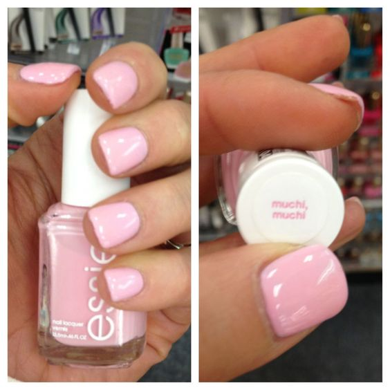 Perfect baby pink! for this spring, literally in looove with Essie right now, just bought a colour similar to this but I need this aswell omg