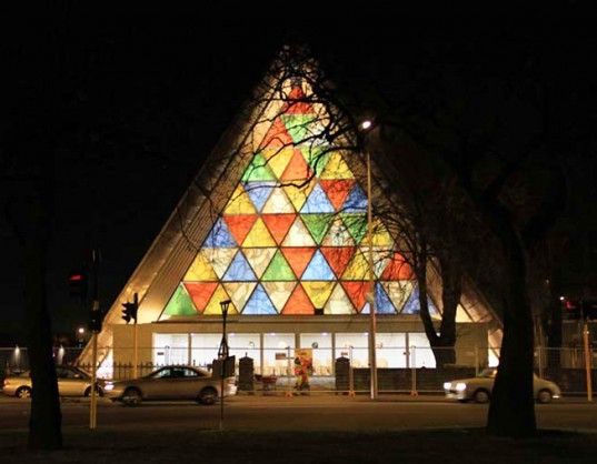 Shigeru Ban Completes Incredible Cardboard Cathedral in Christchurch, New Zealand!