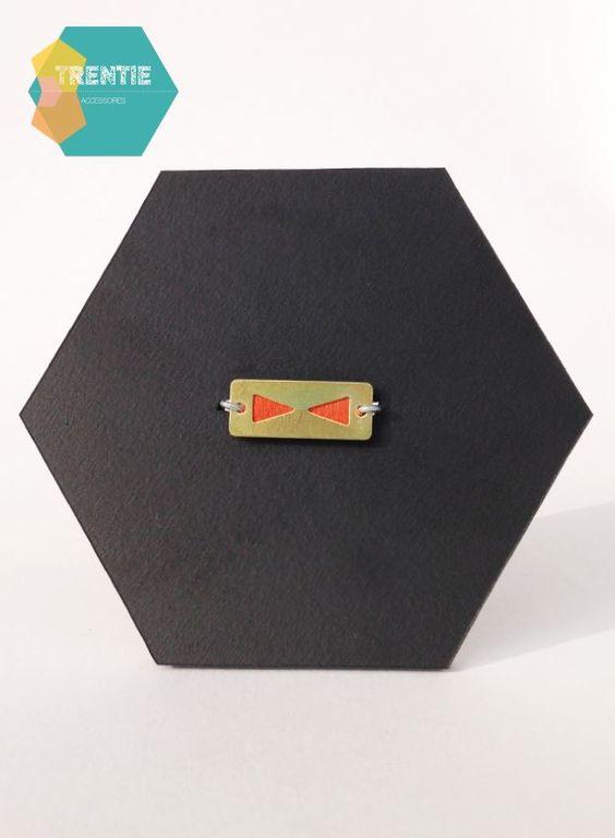 Bijoux Tentie cuir métal