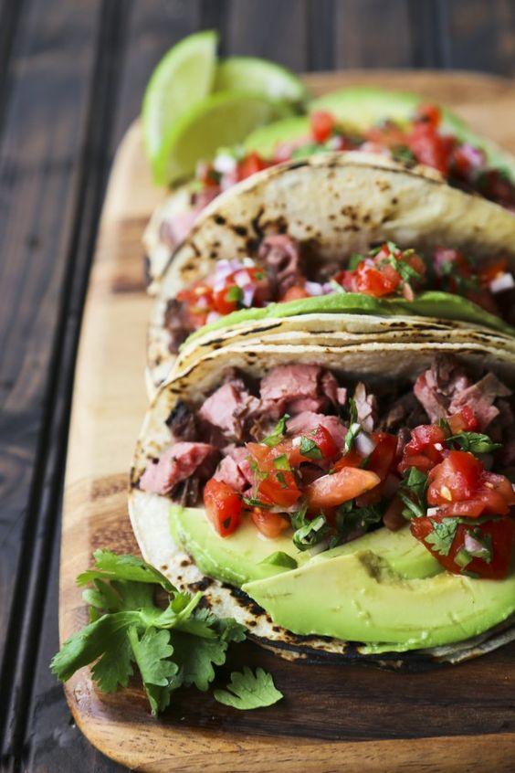 Carne Asada Tacos {Grilled Beef Tacos}