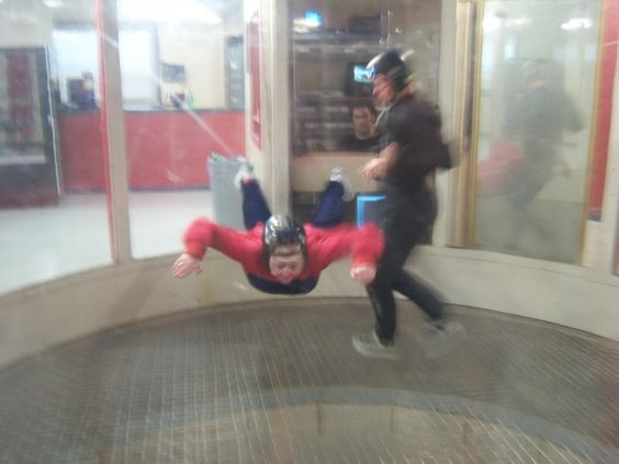 Indoor Skydiving in Eloy, AZ (our second visit there)