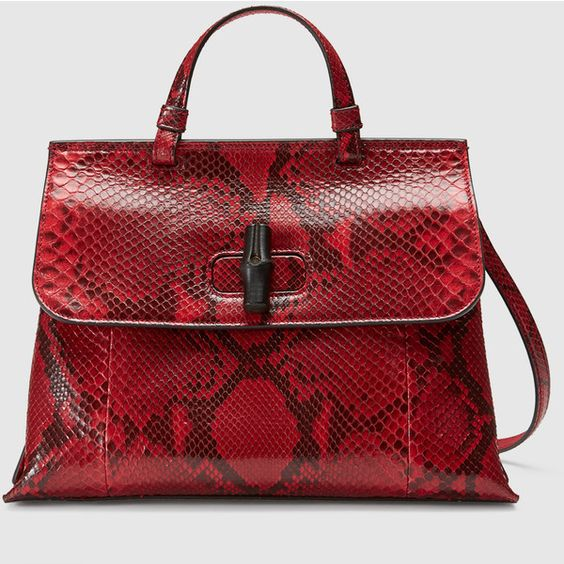 gucci top handle red and black handbags