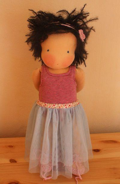 Ballerina Waldorf doll