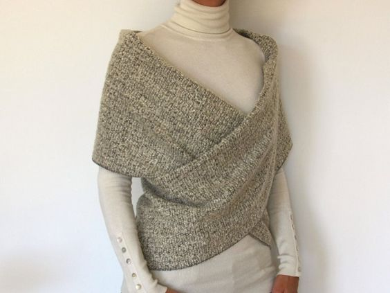 patron couture pull laine