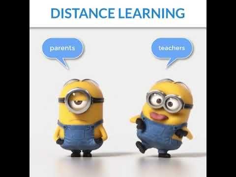 Minions Distance Learning Youtube Teacher Memes Funny Distance Learning Minions