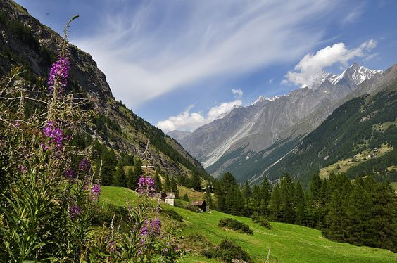 Vallee de Zermatt by Pierre Hanquin