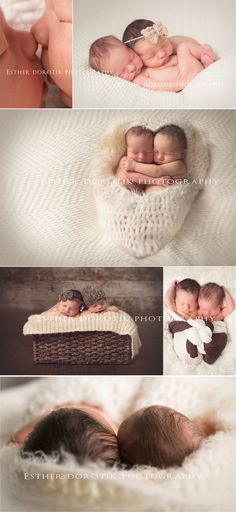twin newborn photography, newborn twins, newborn photography, twin photos OBSESSED