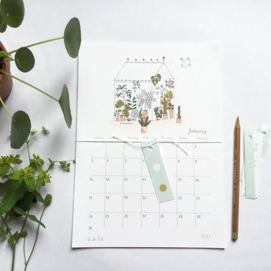 Où trouver un joli calendrier mural pour 2021 ?   Hëllø Blogzine