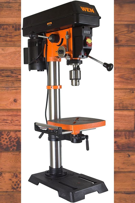 Drill Press Wen 4214 12 Inch Variable Speed In 2020 Drill Press Drill Drilling Machine