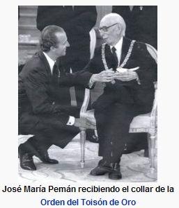 JOSE MARIA PEMÁN novelista, poeta de Cádiz (1897-1981)