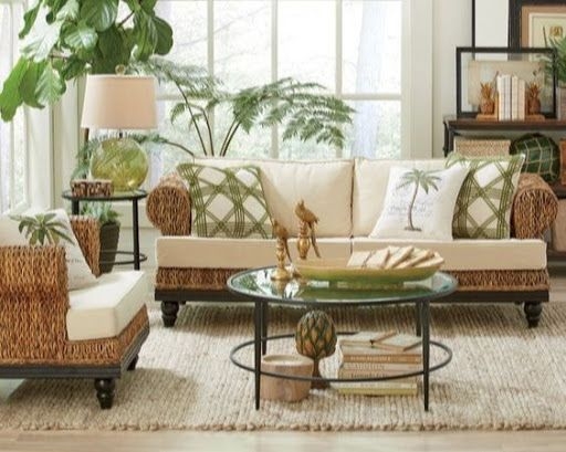 Pin On Tropical Living Room
