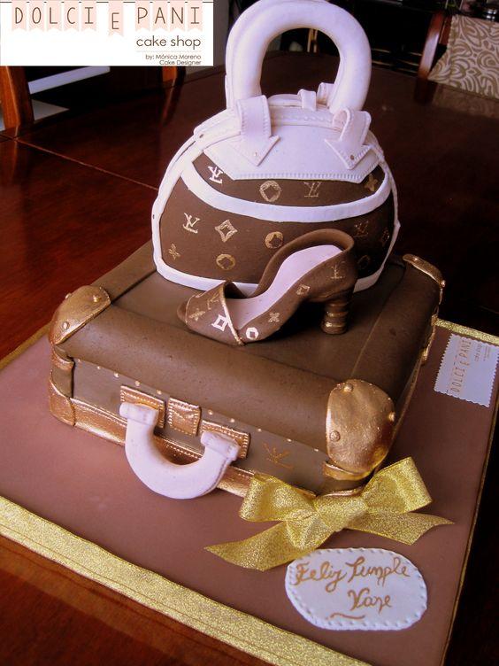 Louis Vuitton Cake en Dolci e Pani