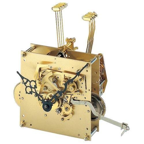Kieninger Clock Movement Sk18 Rear With Westminster Chime Clock Movements Clock Westminster