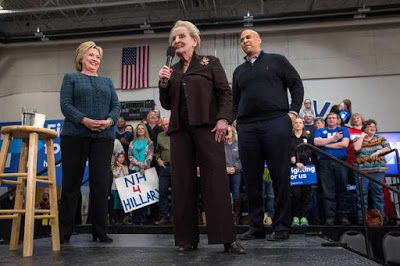 Top 2 Day: Gloria Steinem and Madeleine Albright Scold Young Women Backing Bernie Sanders