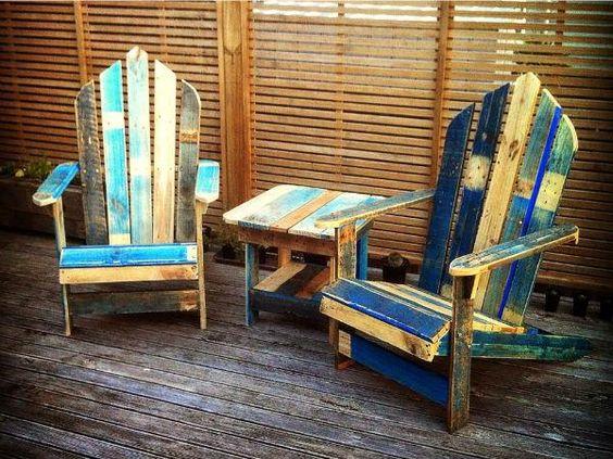 Outdoor Pallet Bar & Patio Furniture