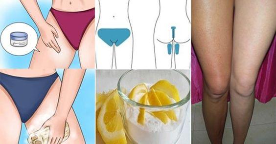 Cómo aclarar la piel oscura de la zona púbica y entre las piernas