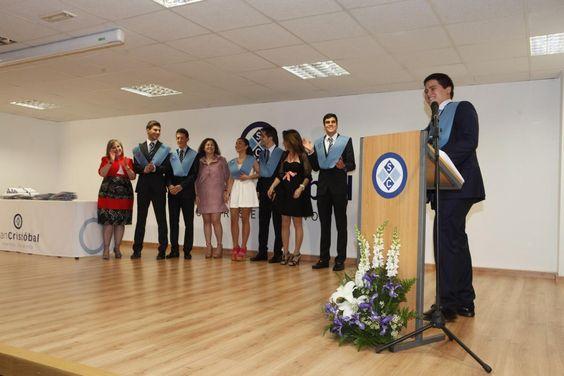 Homenaje a los participantes en las Olimpiadas Académicas