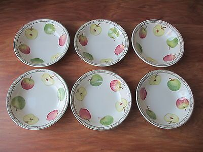 Royal #stafford fine earthenware - set of 6 #oatmeal / #cereal bowls - apple desi,  View more on the LINK: http://www.zeppy.io/product/gb/2/131769748072/