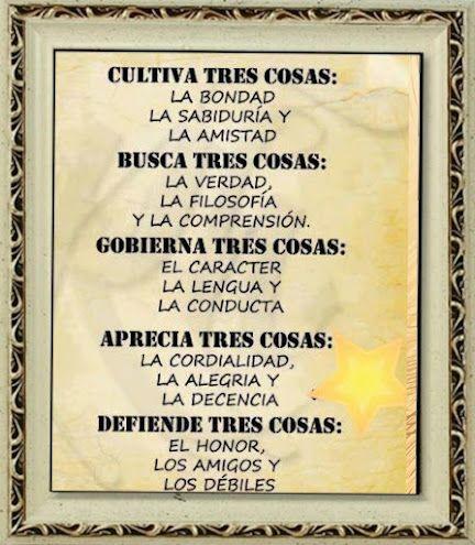 Tres Cosas