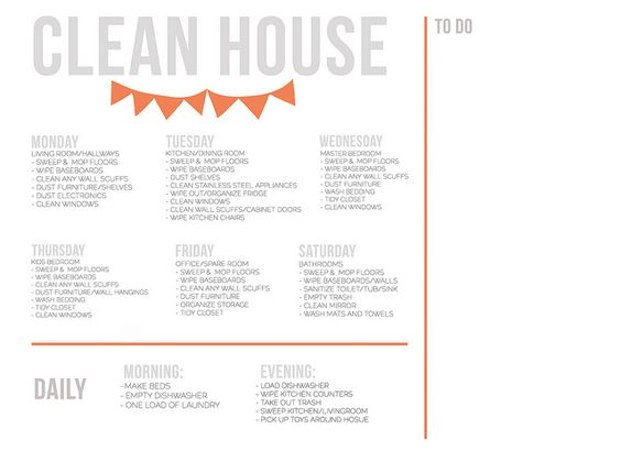 Free download editable cleaning schedule cleaning pinterest cleaning schedules a thing for Editable cleaning schedule
