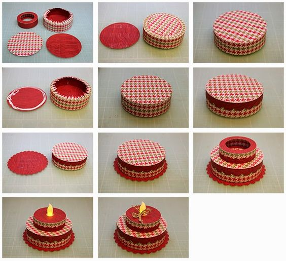 Battery Operated Tealight Cakes!