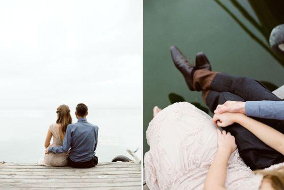 Miguel Varona.  Couple pier.