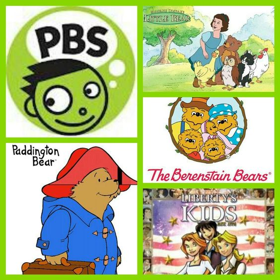 PBS Kids 90's TV Shows