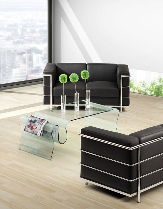 Discovery Coffee Table, Fortress Armchair, Fortress Loveseat, Fortress Sofa