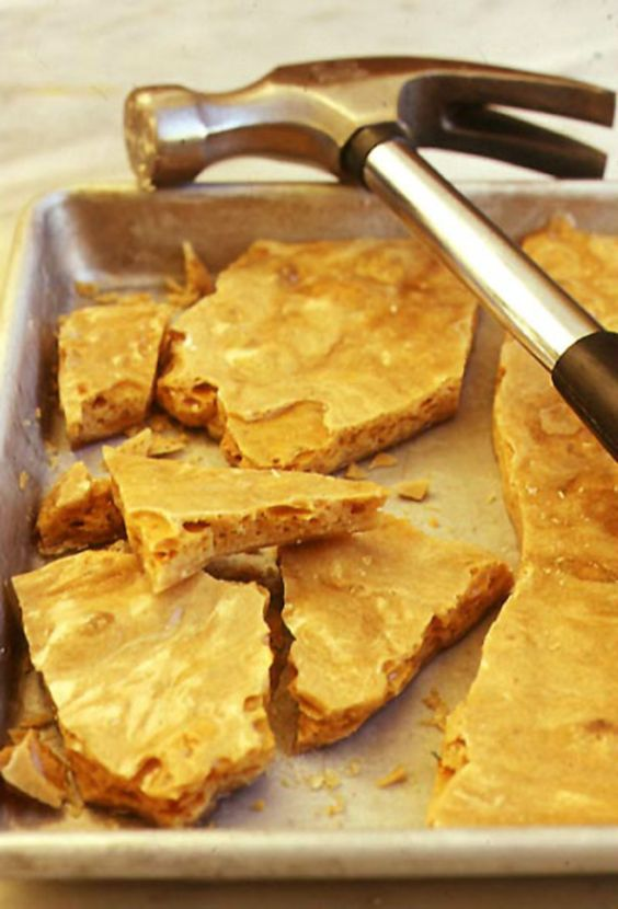 Yellow Man (Irish Honeycomb Candy), Yellowman, Irish Toffee Recipe | SAVEUR: