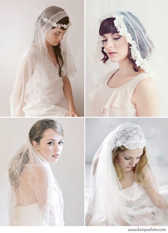 Vintage Lace Veils