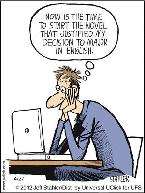 Is majoring in English a practical decision?