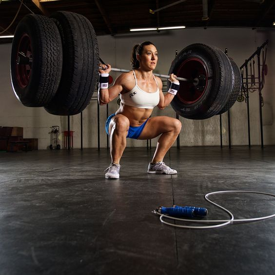 Strong is Beautiful   Jen Smith   RXSG Athlete #fitness #crossfit #rxsmartgear #jumpropes