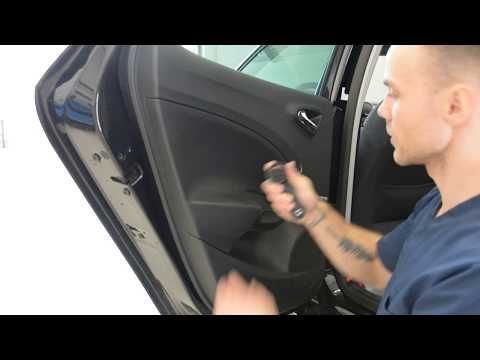 How To Remove The Door Panel Seat Ibiza Youtube Panel Doors Exterior Door Handles How To Remove