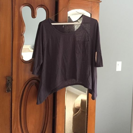 Urban outfitters dark purple top Sparkle and fade brand urban outfitters top size xs Urban Outfitters Tops